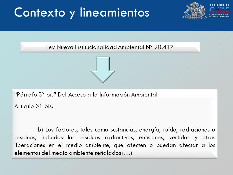 Ley Nueva Institucionalidad Ambiental Nº 20.417