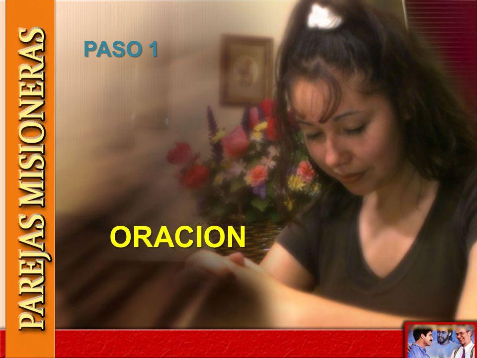 PASO 1 ORACION
