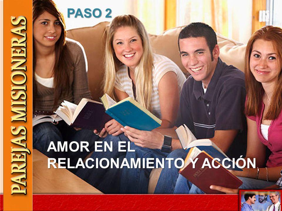 AMOR EN EL RELACIONAMIENTO Y ACCIÓN