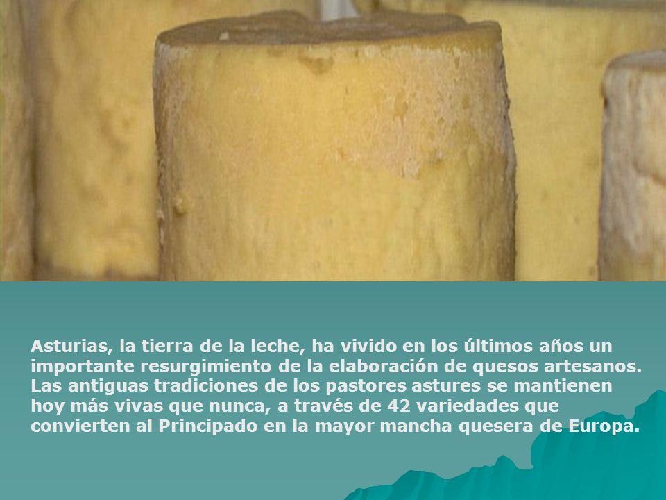 Asturias, la tierra de la leche, ha vivido en los últimos años un importante resurgimiento de la elaboración de quesos artesanos.