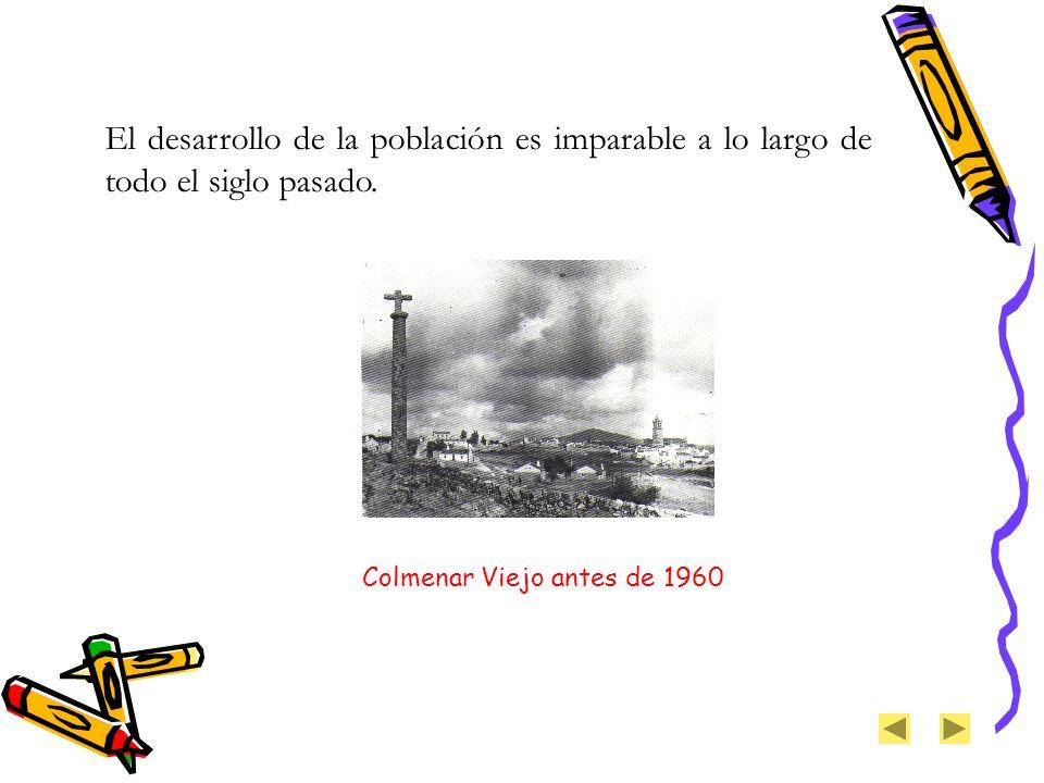 Colmenar Viejo antes de 1960