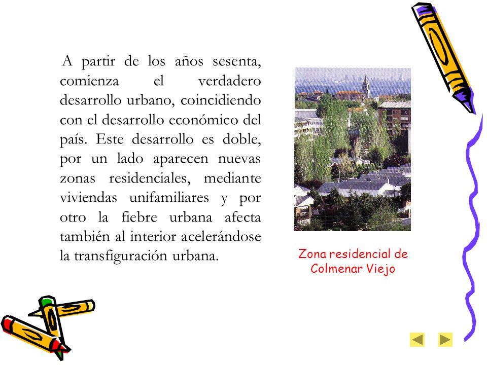 Zona residencial de Colmenar Viejo