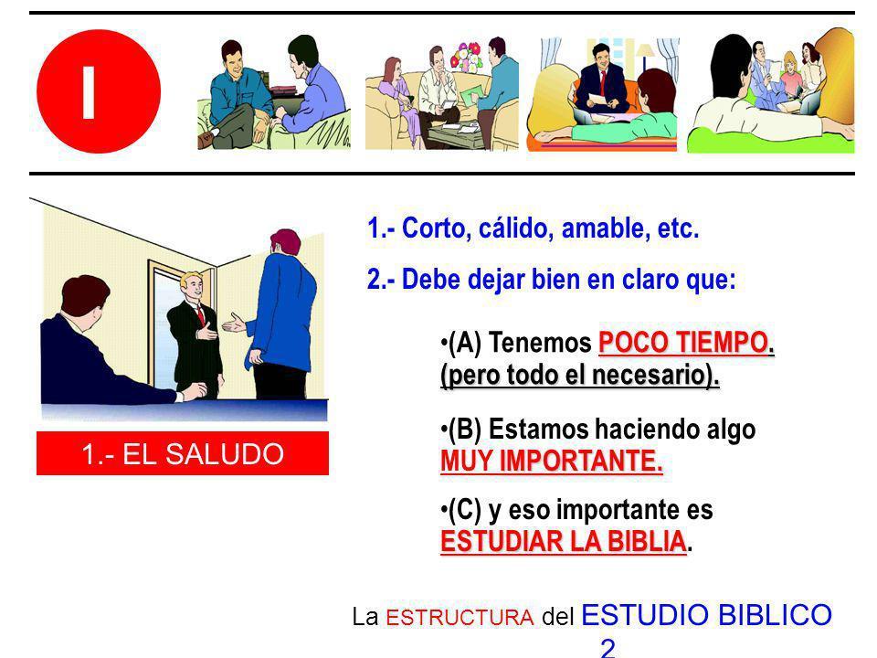 La ESTRUCTURA del ESTUDIO BIBLICO 2