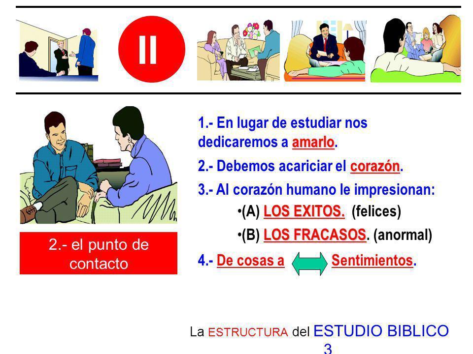 La ESTRUCTURA del ESTUDIO BIBLICO 3