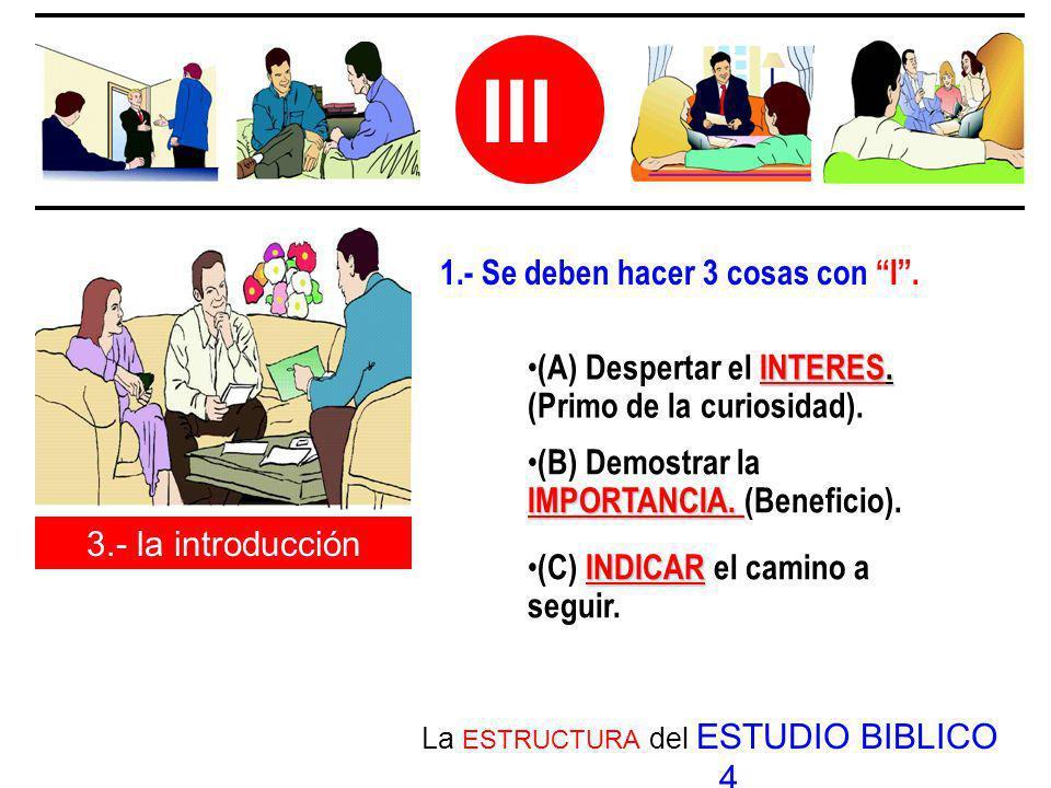 La ESTRUCTURA del ESTUDIO BIBLICO 4