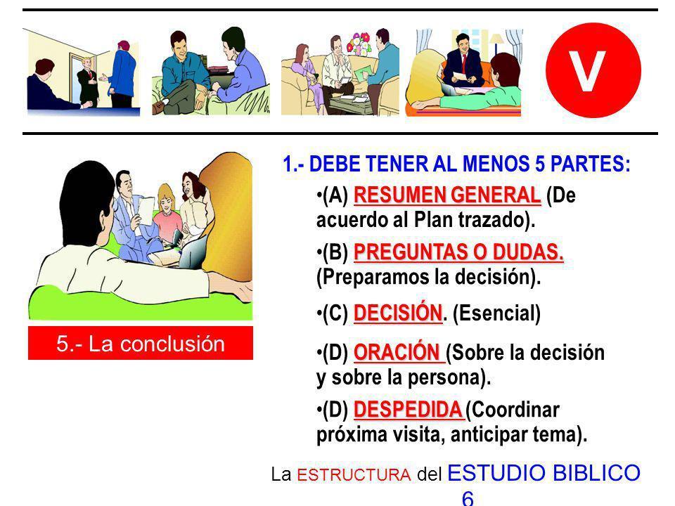 La ESTRUCTURA del ESTUDIO BIBLICO 6