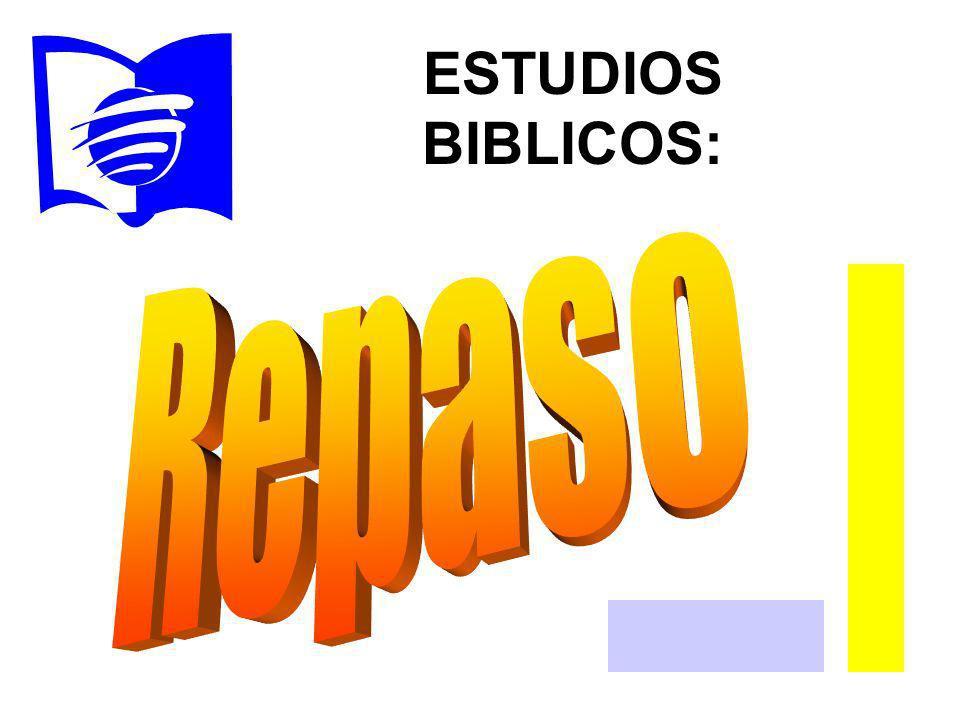 ESTUDIOS BIBLICOS: Repaso