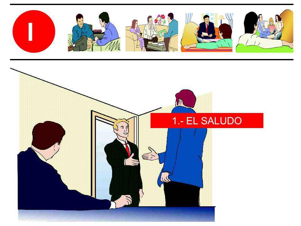 I 1.- EL SALUDO