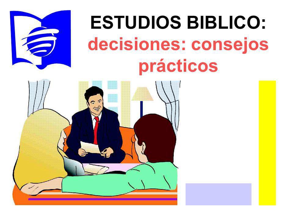 decisiones: consejos prácticos