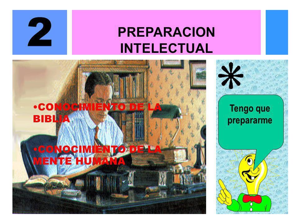 PREPARACION INTELECTUAL