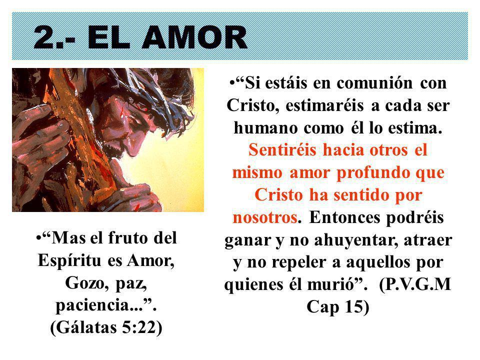 2.- EL AMOR