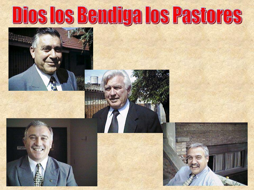 Dios los Bendiga los Pastores