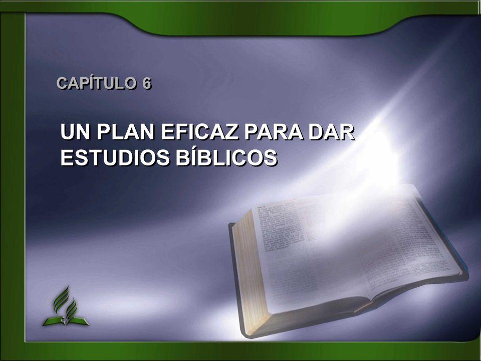 UN PLAN EFICAZ PARA DAR ESTUDIOS BÍBLICOS