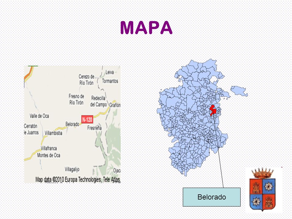MAPA Belorado