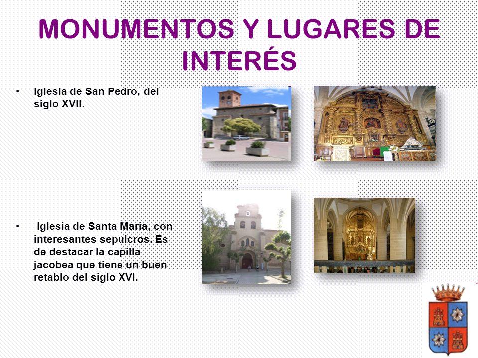 MONUMENTOS Y LUGARES DE INTERÉS
