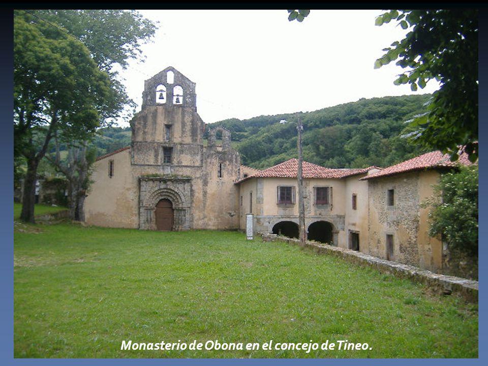 Monasterio de Obona en el concejo de Tineo.