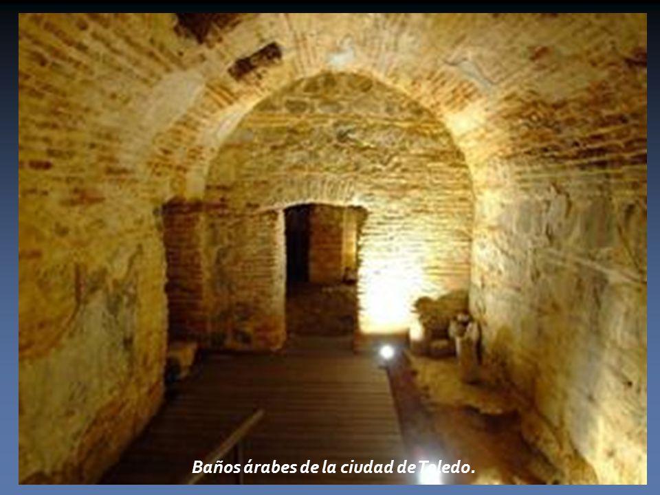 Baños árabes de la ciudad de Toledo.