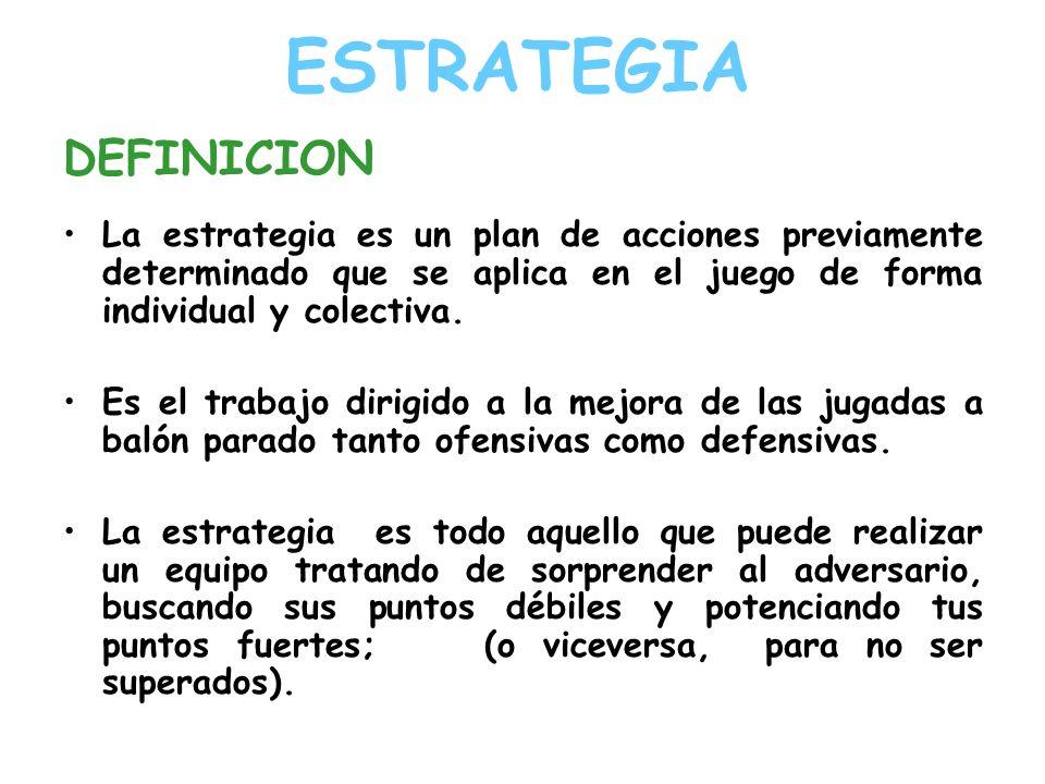 ESTRATEGIA DEFINICION
