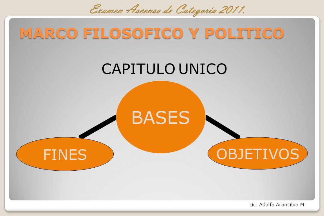 MARCO FILOSOFICO Y POLITICO