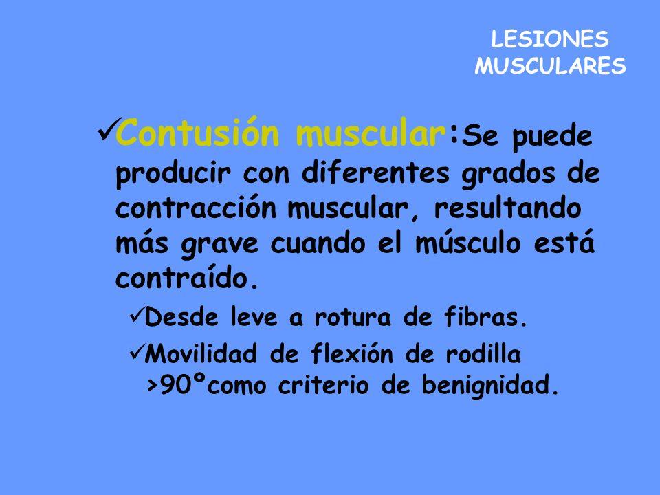 LESIONES MUSCULARES