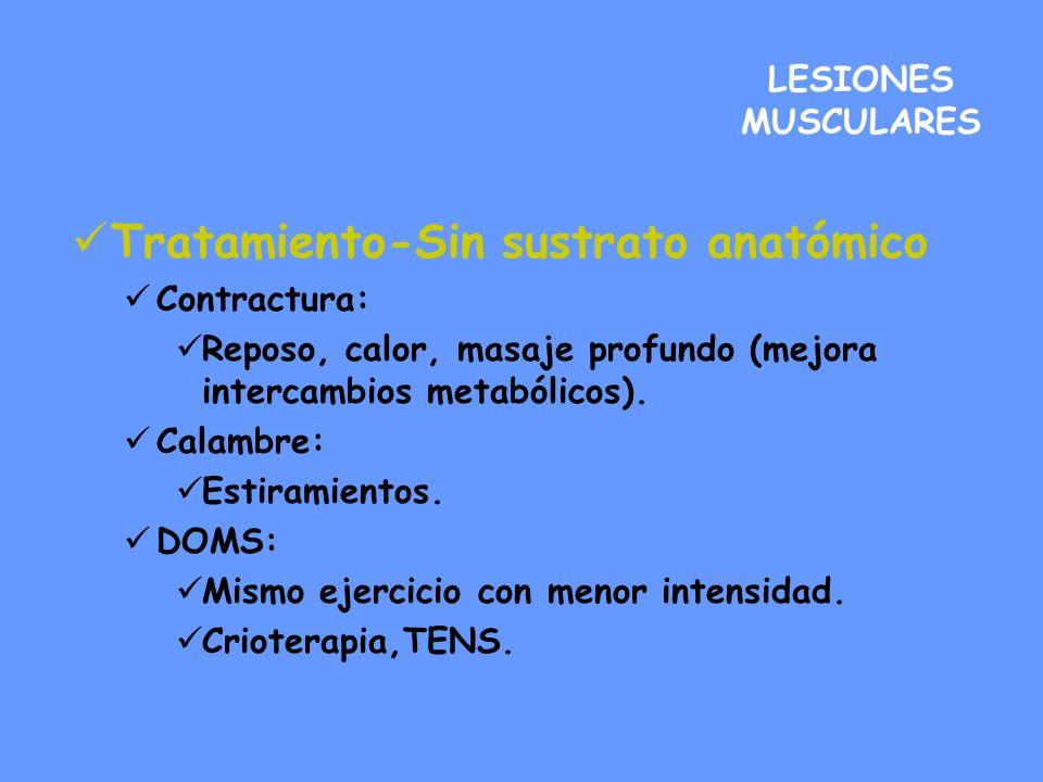 Tratamiento-Sin sustrato anatómico