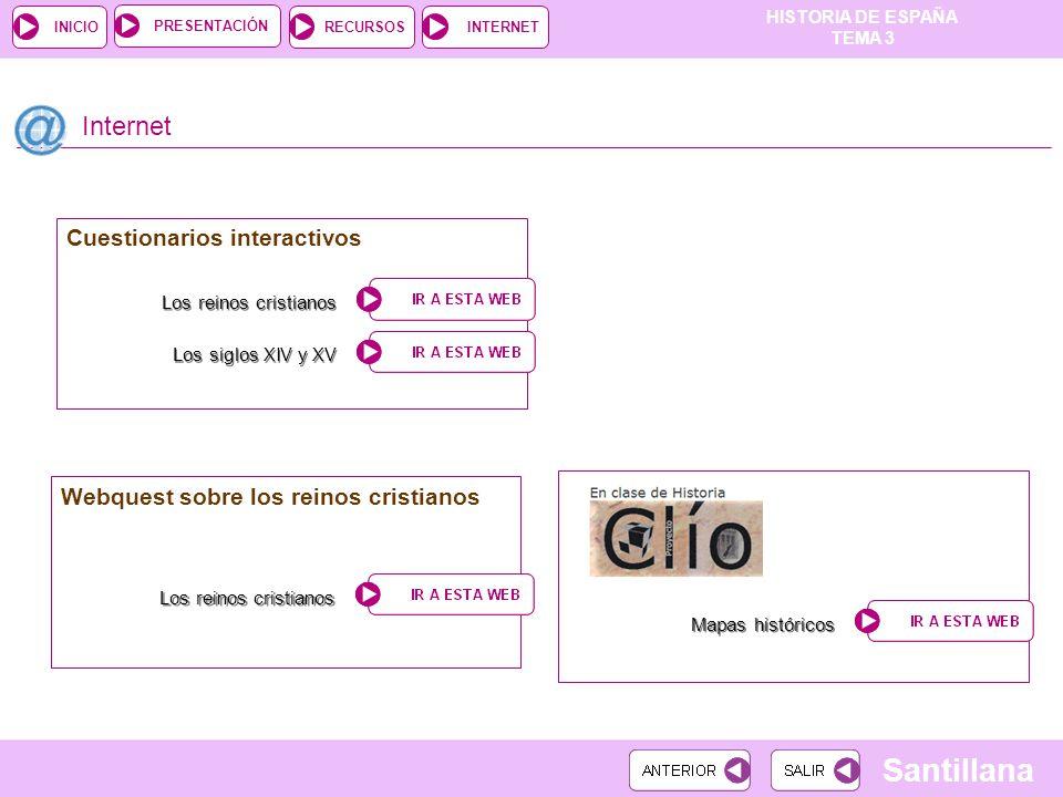 Internet Cuestionarios interactivos