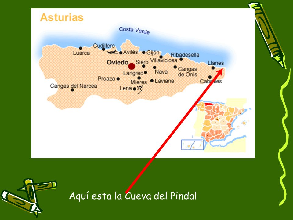 Aquí esta la Cueva del Pindal