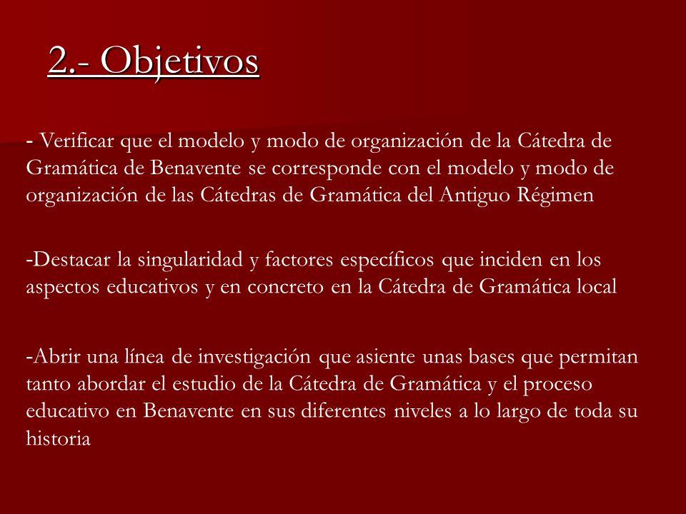 2.- Objetivos