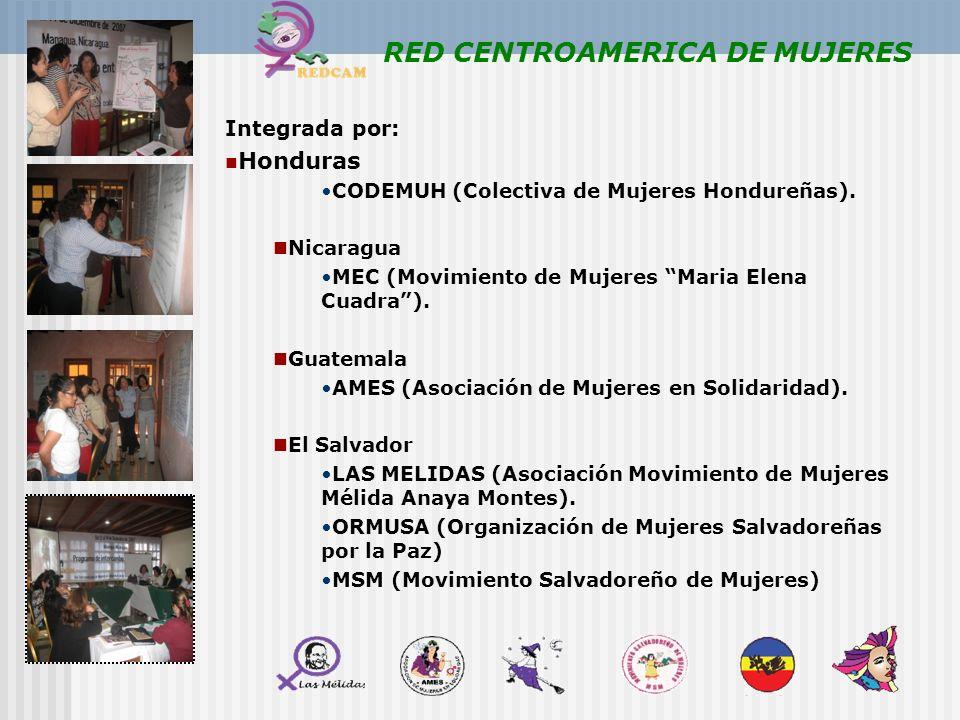 RED CENTROAMERICA DE MUJERES