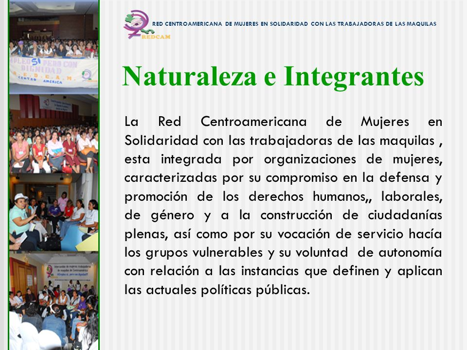 Naturaleza e Integrantes