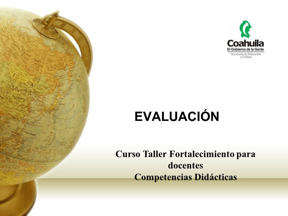 Curso Taller Fortalecimiento para docentes Competencias Didácticas