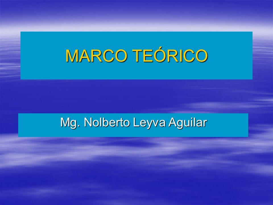 Mg. Nolberto Leyva Aguilar