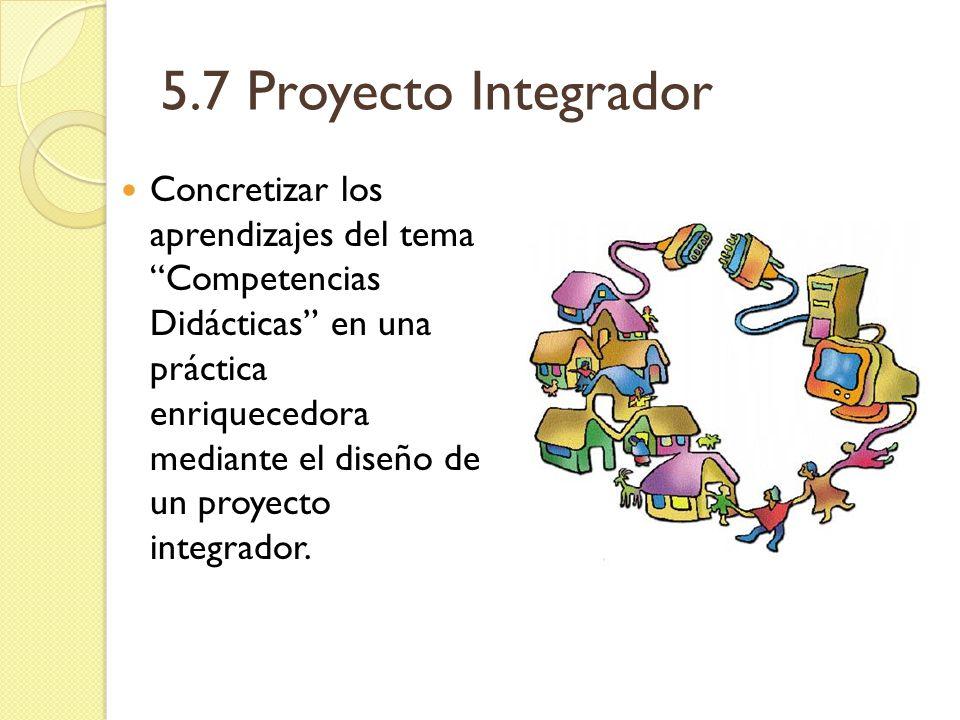 5.7 Proyecto Integrador