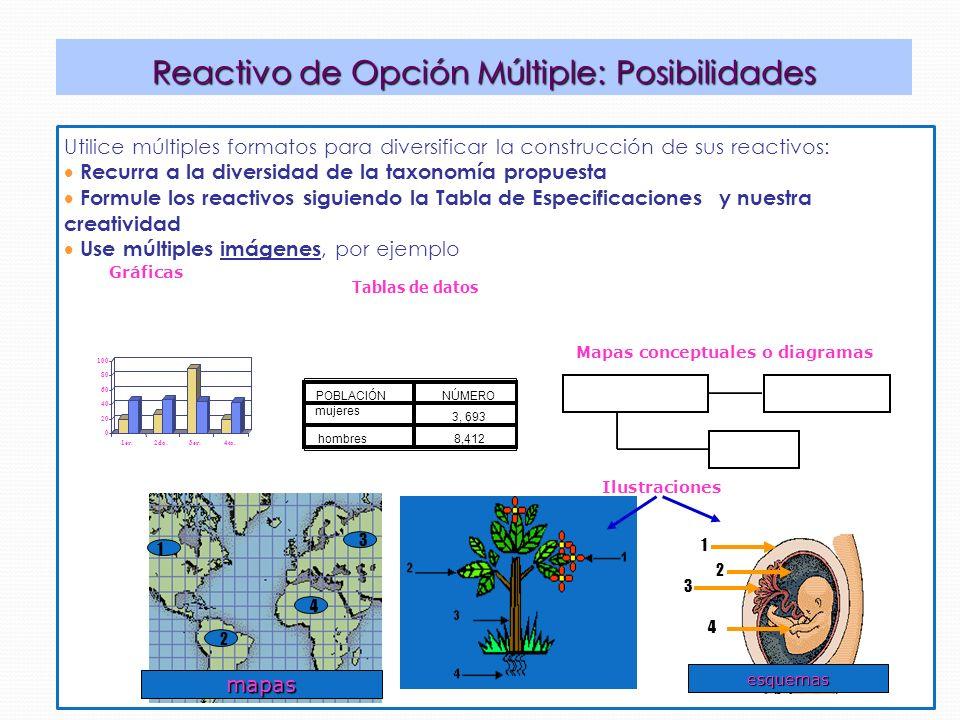Mapas conceptuales o diagramas