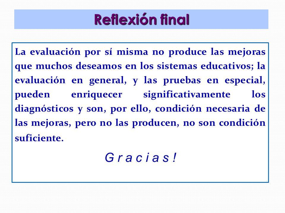 Reflexión final G r a c i a s !