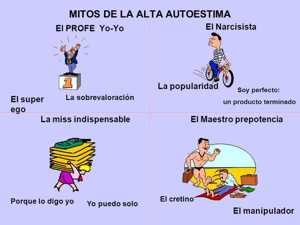 MITOS DE LA ALTA AUTOESTIMA