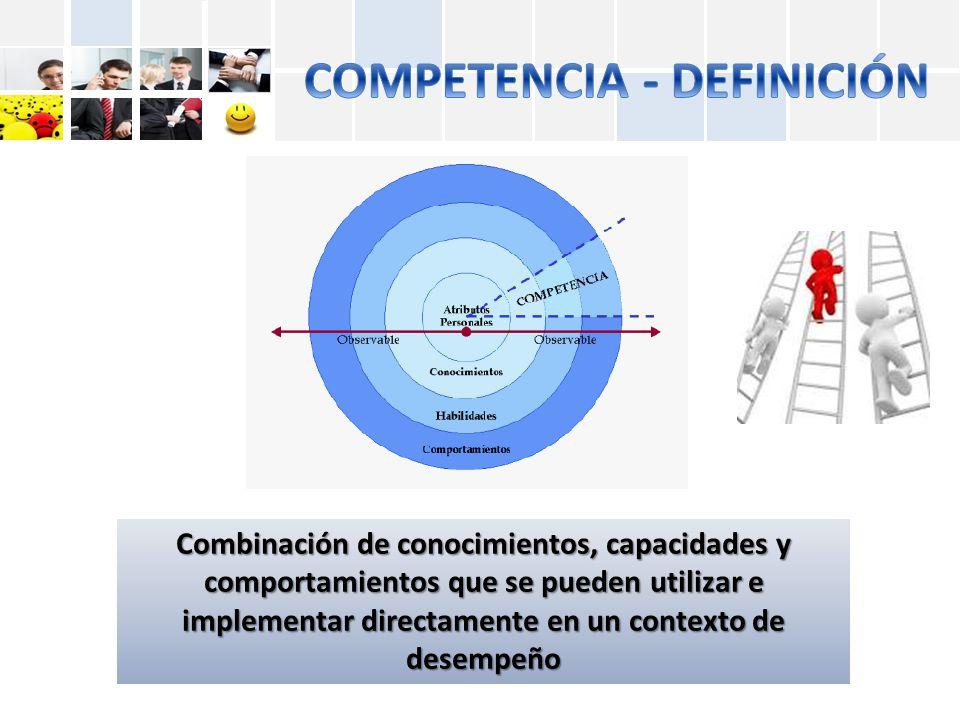 COMPETENCIA - DEFINICIÓN