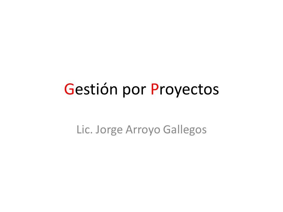 Lic. Jorge Arroyo Gallegos