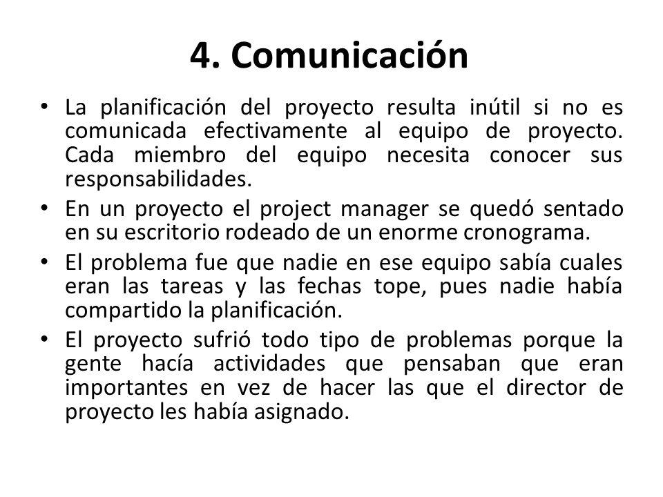 4. Comunicación