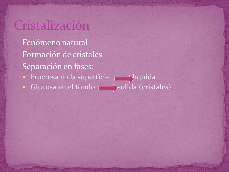 Cristalización Fenómeno natural Formación de cristales