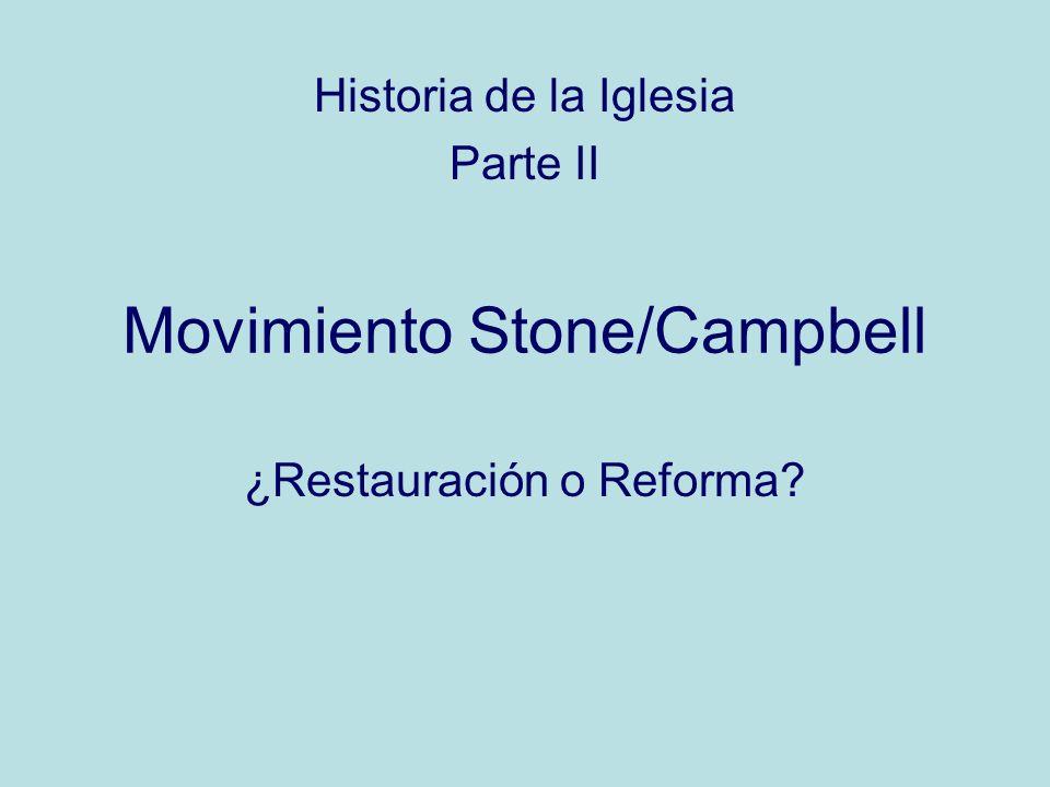 Movimiento Stone/Campbell