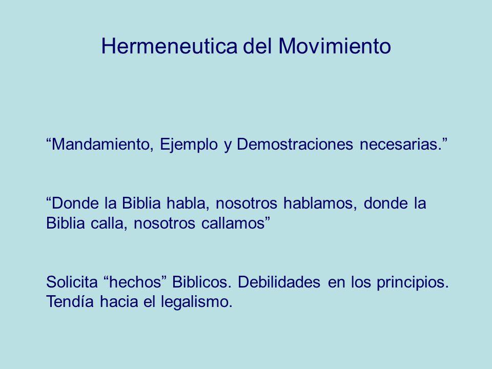 Hermeneutica del Movimiento