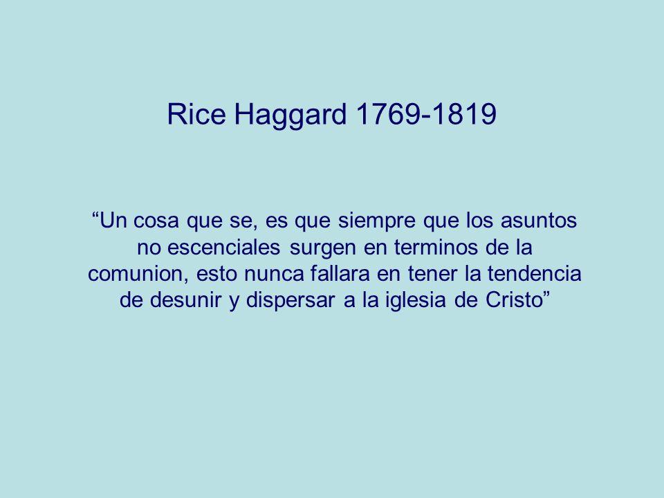 Rice Haggard 1769-1819