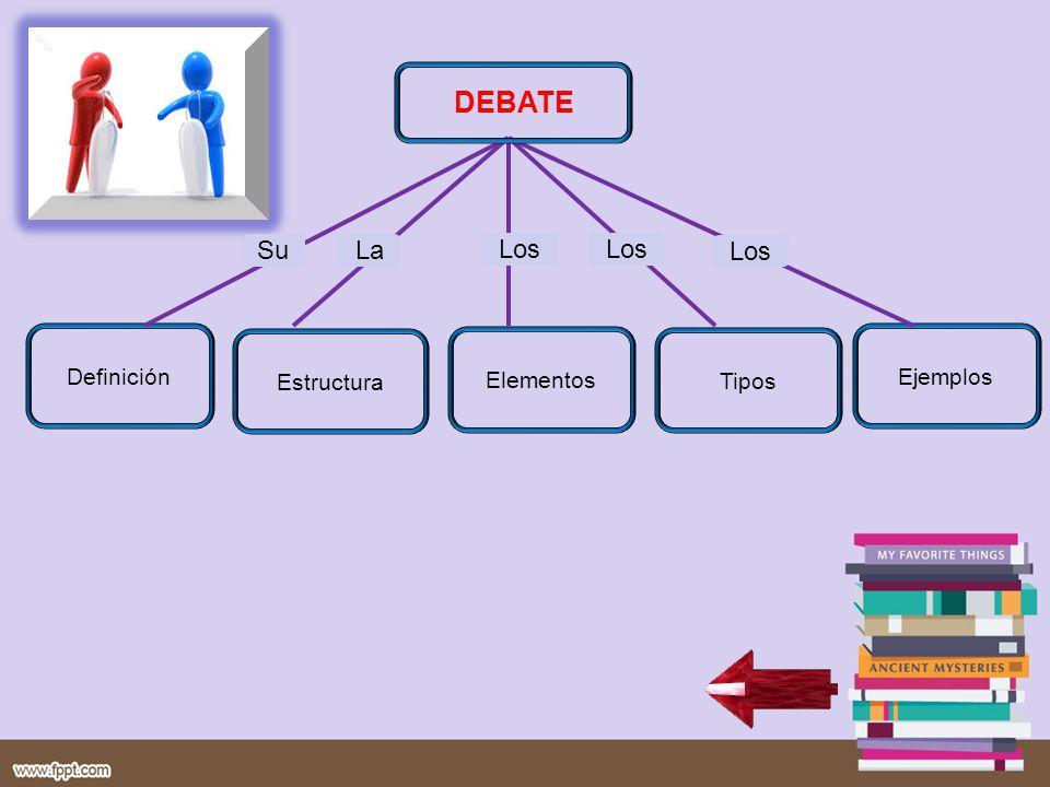 DEBATE Su La Los Los Los Ejemplos Tipos Elementos Estructura