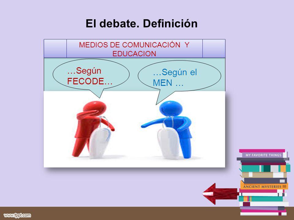 MEDIOS DE COMUNICACIÓN Y EDUCACION
