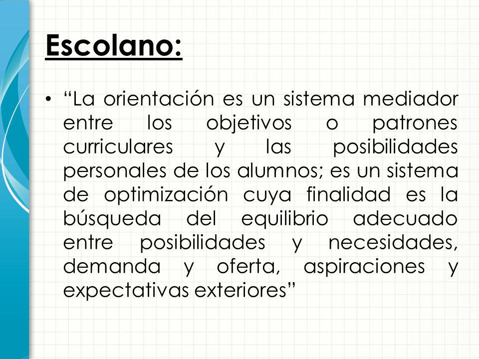 Escolano: