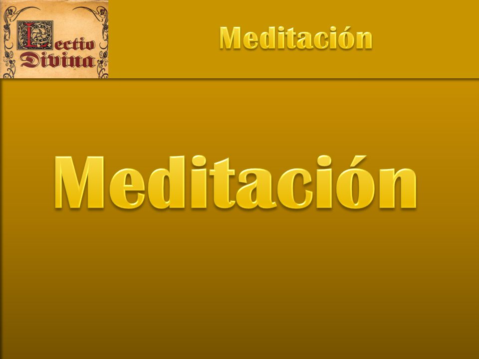 Meditación Meditación