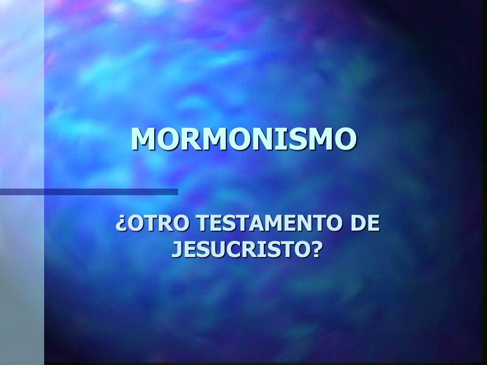 ¿OTRO TESTAMENTO DE JESUCRISTO