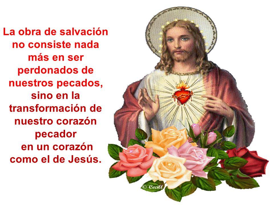 en un corazón como el de Jesús.
