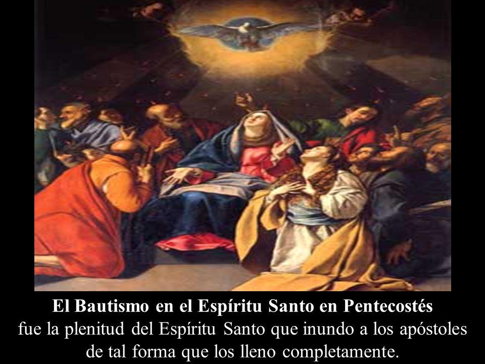 El Bautismo en el Espíritu Santo en Pentecostés